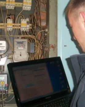 Программирование электрического счетчика