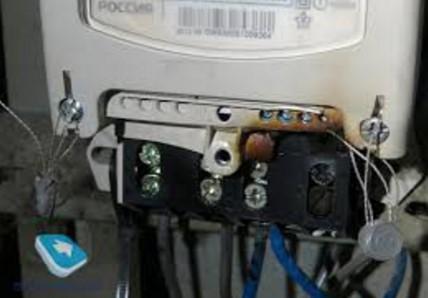 Согрел счетчик электроэнергии