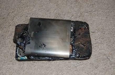 перегрев мобильной батареи
