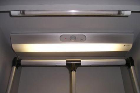 подсветка шкафов