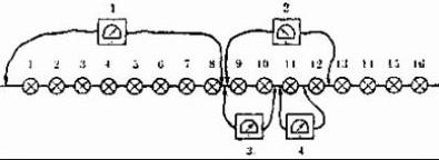 схема ремонта гирлянды