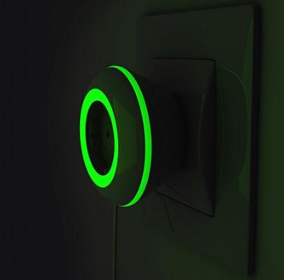 Розетка со световым индикатором