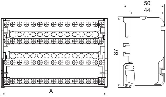 Размеры корпуса кросс-модуля