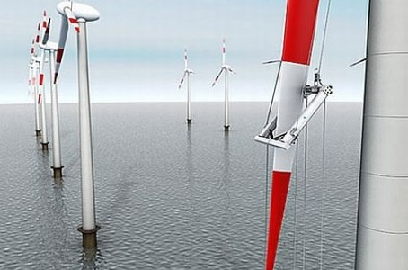 Робот для инспекции ветряков