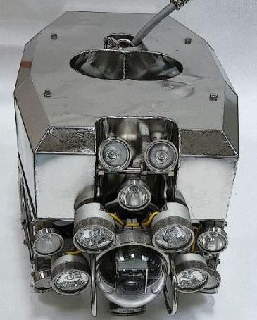 Робот для работы на объектах атомной энергетики