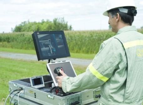 Управление роботом LineScout