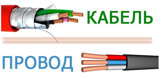 кабель или провод