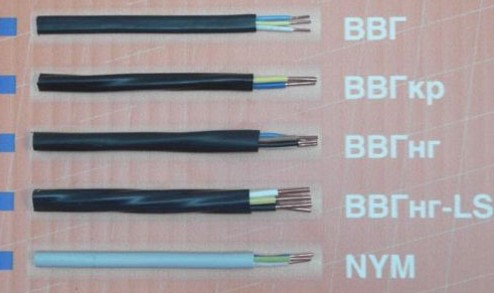 кабеля для проводки