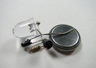 как выглядит светодиод с автоматическим включением