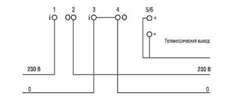 схема подключения меркурий 201