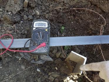 Проверка защитного контура мультиметром