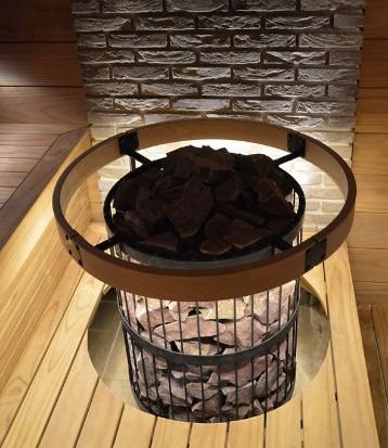 Центральная электрическая печь для бани