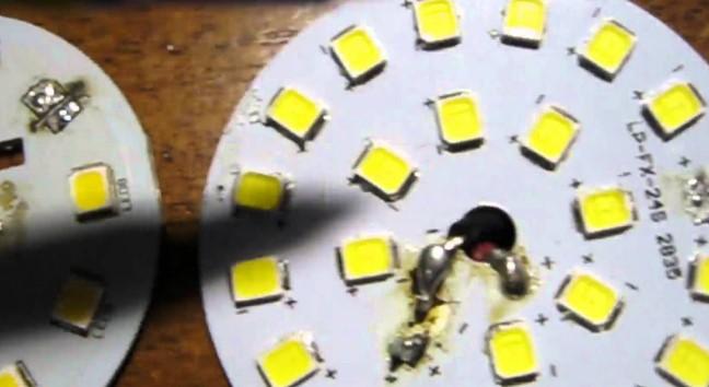 Что делать, если перегорают светодиодные лампы