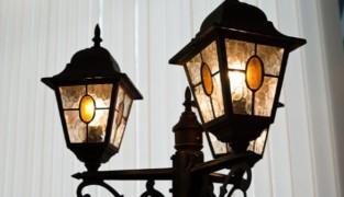 Уличный светильник своими руками