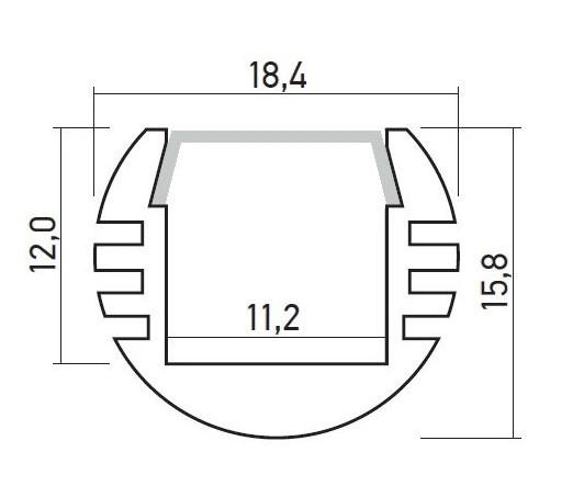 круглый профиль размеры
