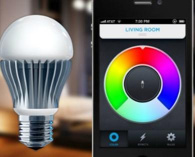 настройка освещения умной лмпой