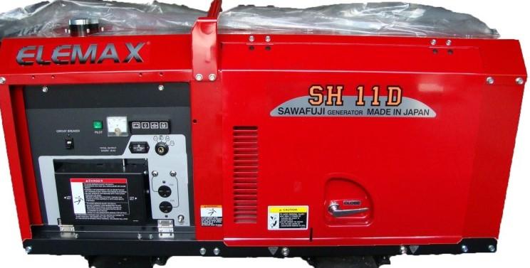 Защищенный дизельный генератор