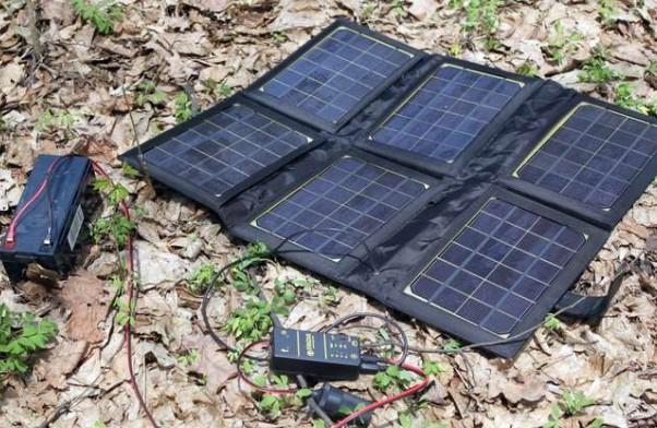 Переносная солнечная батарея, которая реально работает