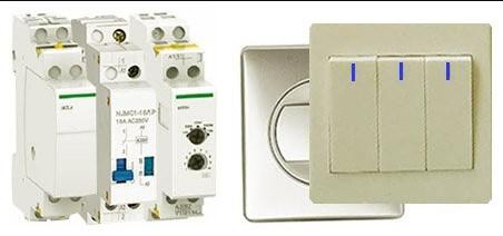 Проходные выключатели или бистабильное реле