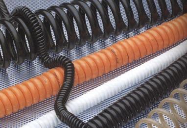 конструкция спирального кабеля