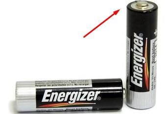 пальчиковая батарейка плюс