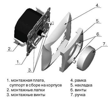 Конструкция простейшего диммера