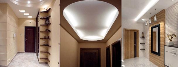 Организация освещения в прихожей комнате