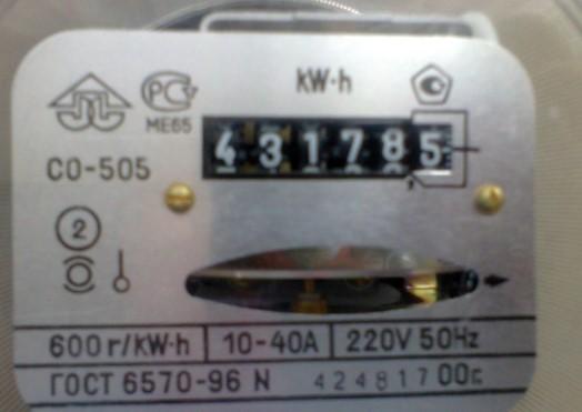 Счетчик CO-505