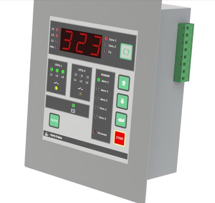 Контроллер автоматического ввода резерва