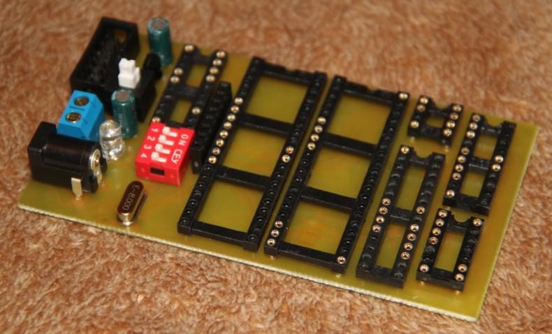 Программатор микроконтроллера avr схема
