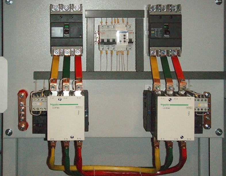 Цветовая маркировка проводов во ВРУ