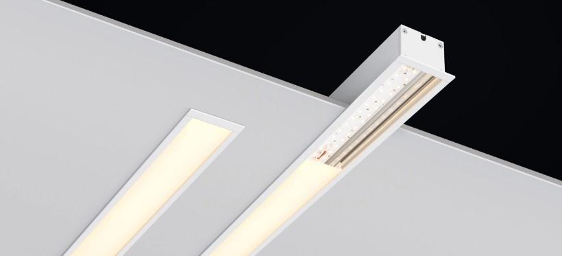 Встраиваемые линейные светильники