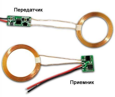 Приемник и передатчик для беспроводного электричества