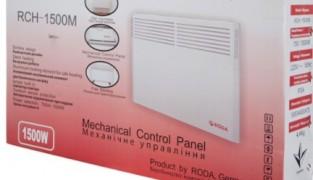 Электрический конвектор Roda