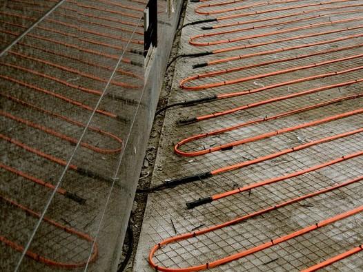 Нагревательный кабель для тротуаров