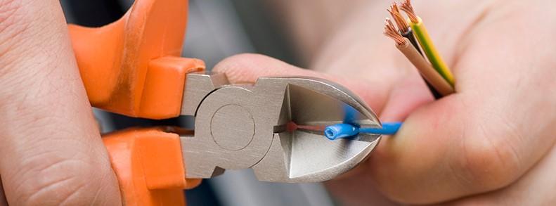 Перекусывание провода