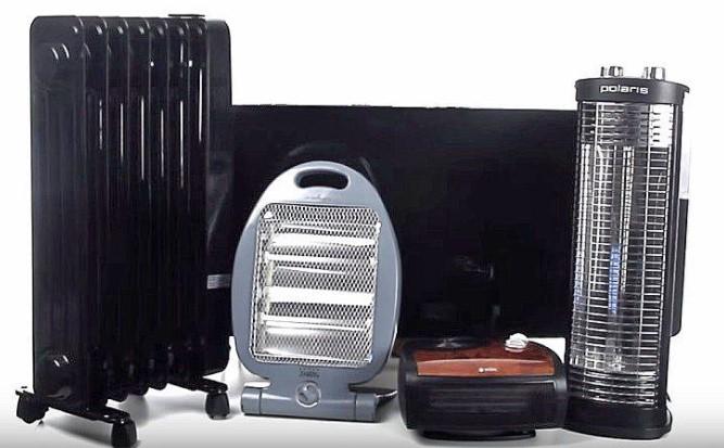 Разновидности электрических обогревателей