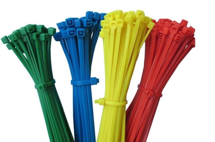 Цветные кабельные стяжки