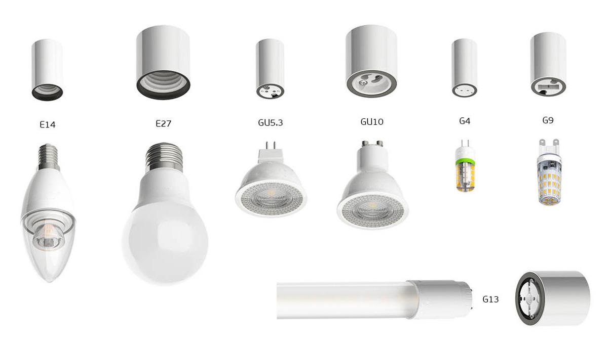 как выкрутить точечный светильник