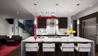 Как рассчитать расстояние между светильниками?