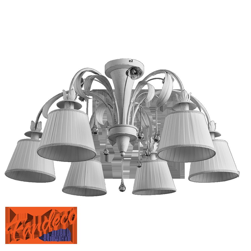Люстра Arte Lamp Borgia A8100PL-6WG