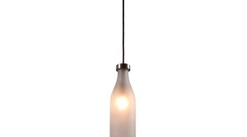 как сделать из пластиковых бутылок светильник