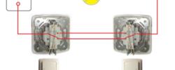Подключение двухклавишного выключателя своими руками