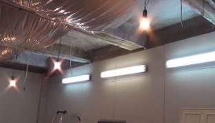 Как сделать освещение в гараже своими руками