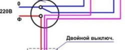 Схема разводки электрики на кухне