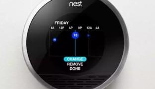 Самообучающиеся энергосберегающие термостаты Nest Labs