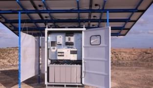 Модульная солнечная электростанция Panasonic