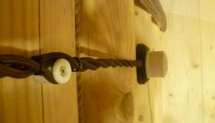 Ретро проводка – дизайнерский прием