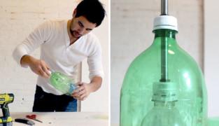 Светильник из пластиковых бутылок, а будет ли красиво?!