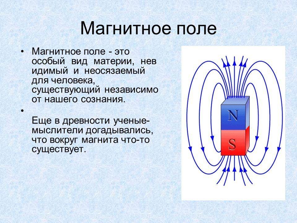 Электрическое и магнитное поле